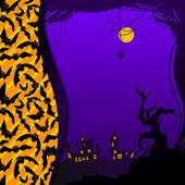Halloween illustratie — Stockvector