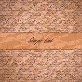 抽象手写文字的背景 — 图库矢量图片