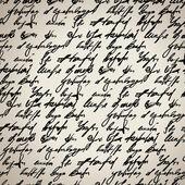Resumen inconsútil mano escribe patrón — Vector de stock
