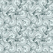 Seamless abstract casual hand-drawn pattern — Stockvektor