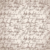 Abstract seamless hand write pattern — Stockvektor