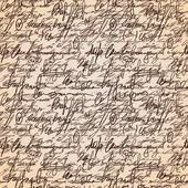 Soyut dikişsiz el yazma modeli — Stok Vektör
