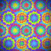 Hippie pattern with bright drops — Wektor stockowy