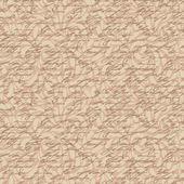 Streszczenie bezszwowe ręcznie napisać wzór z roślinnym motywem — Wektor stockowy
