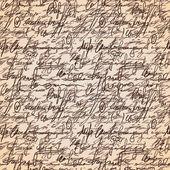 抽象的なシームレスな手書くパターン — ストックベクタ