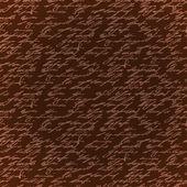 образец написания бесшовные коричневый элегантность рук — Cтоковый вектор