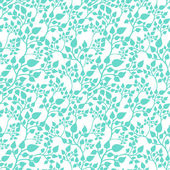 Seamless casual pattern with leaves — Stock Vector