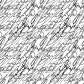Abstract seamless graphic hand write pattern — Stock Vector