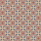 Patrón de arte pop, vector de caleidoscopio abstracto textura perfecta — Vector de stock