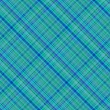 Seamless background of plaid pattern — Stock Vector