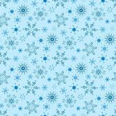 Modèle de noël avec des flocons de neige — Vecteur