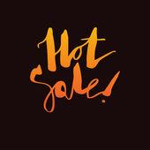 """Hot sale"" — Stock Vector"