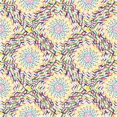 Seamless colorful artistic  pattern — Stock Vector