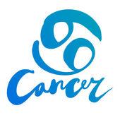 """Zodiac sign """"Cancer"""" — Stock Vector"""