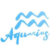 """Signo de aquário"""" — Vetorial Stock"""