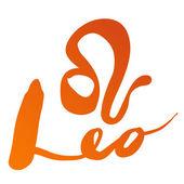"""Zodiac sign """"Leo"""" — Wektor stockowy"""