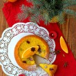 Christmas orange cake — Foto Stock