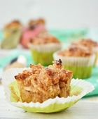 Apple muffins — Stock Photo