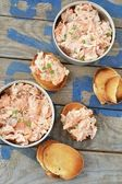 Salmon pate — Stock Photo