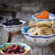 Stock Photo: Dried fruit