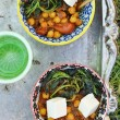 Indian  chickpea curry — Stock Photo