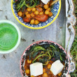 Indian  chickpea curry - Stock Photo
