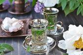 Tè alla menta. — Foto Stock