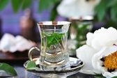 Mint tea. — Stock Photo