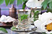 Chá de menta. — Fotografia Stock