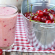 Stock Photo: Cherry smoothy