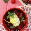 Cherry dessert — Stock Photo #27414381