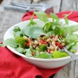 Beans and ruccola salad — Stock Photo