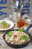 Dirty rice with ground beef — Foto Stock