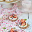 Summer berries tartlets — Stock Photo #32593489