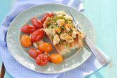 Herby tofu scramble — Zdjęcie stockowe