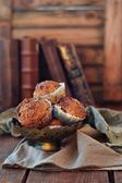 Carrot muffins with maple syrup — Стоковое фото