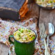 Barley groat risotto — Stock Photo