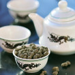 Stock Photo: Oolong tea