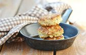 Chicken patties — Stock Photo