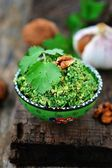 Spinach pkhali. georgian appetizer — Stock Photo
