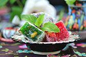 Locum , turkish traditional delight — Photo