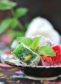 Locum , turkish traditional delight — Stock Photo