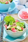 Salad  in Asian style — Stock Photo