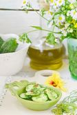 Cucumber pickles — Stock Photo
