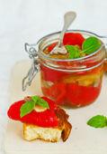 Marinaded in Italian sweet pepper  — Stock Photo