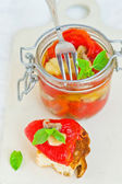 Marinaded in Italian sweet pepper  — Stock Photo