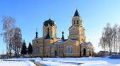 Igreja de tijolo da santa virgem — Foto Stock