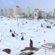 Stock Photo: Kiev city in winter
