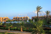 Beautiful resort in Egypt — Stock Photo