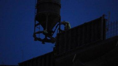 Nightly builders — Stock Video